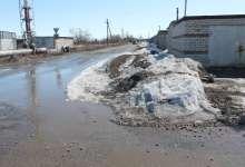 Карталинские ливневки снегом забиты