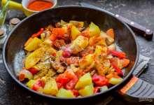 Приготовьте картофельный гуляш