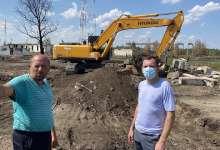 В Еленинском поселении продолжаются восстановительные работы